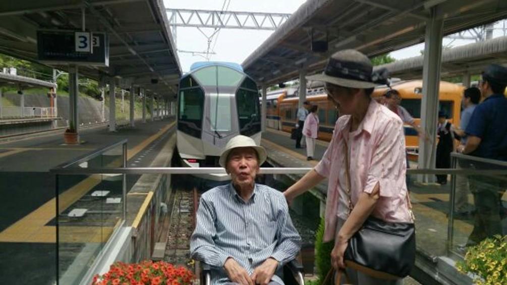 歩行困難で車椅子の父と賢島へしまかぜで遊びに行きました