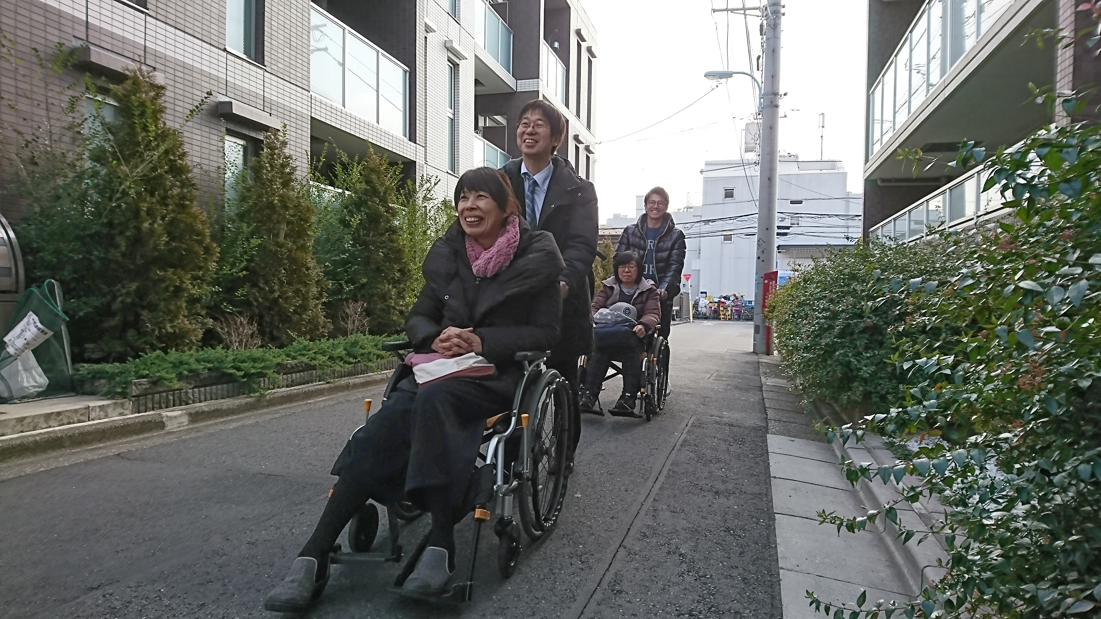 第2回「車いす操作講習・体験会」開催しました!